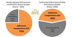 Plus de 50 000 adhérents de coopératives sont certifiés PEFC®Gestion durable